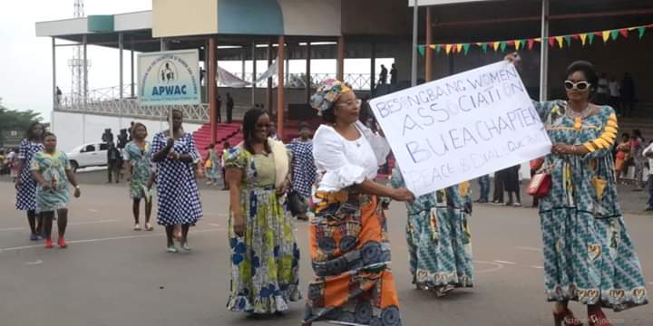 Women's day in English Cameroon: Buea