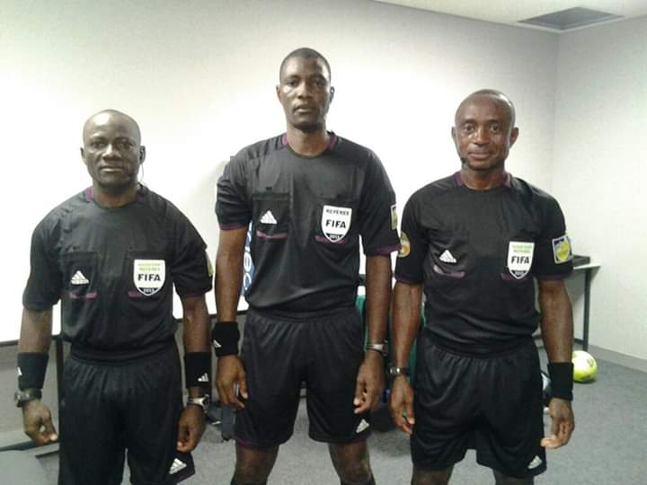 Cameroonian referees to officiate final match