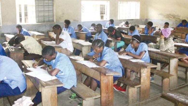 Students sitting in for the 2019 GCE Exams
