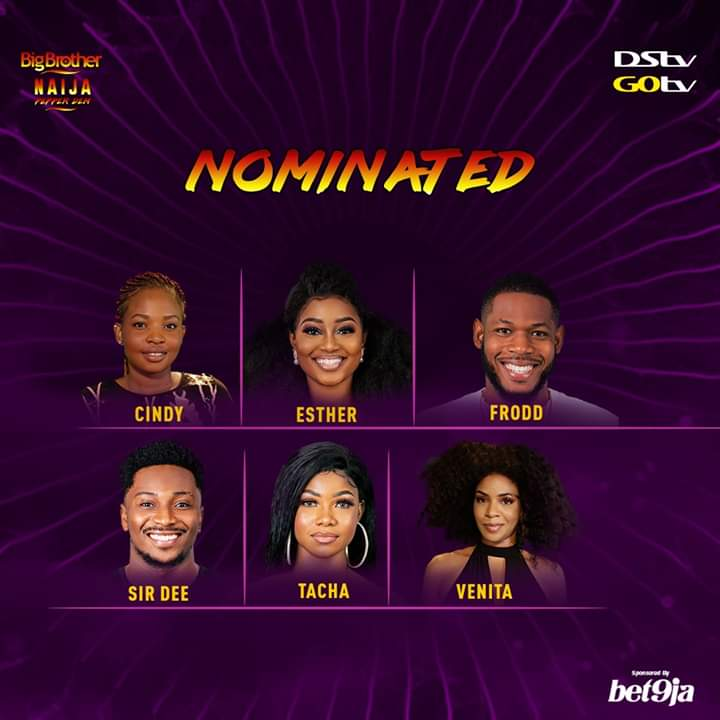 BBN Pepper Dem Eviction: who goes home?