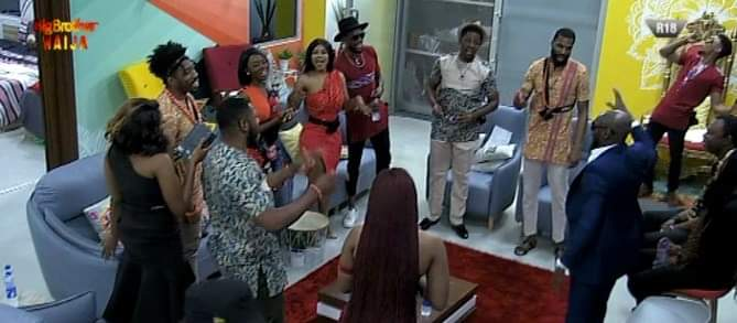 BBNaija Special Guest 2 Face   Celebrates Birthday in the house