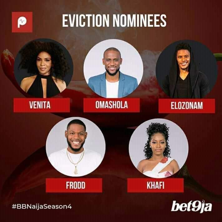 BBNaija PepperDem Eviction: nominees
