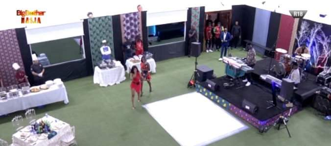 BBNaija Special Guest 2 Face   Celebrates Birthday With Housemates