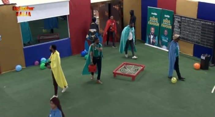 BBNaija Week 12 Arena Games: