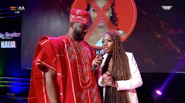 BBNaija Eviction Week 11: Khafi out