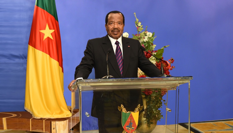 President Biya To Address Cameroonians This Tuesday.
