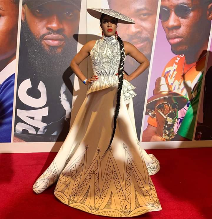 Pepper Dem Housemates At The Headies: Venita
